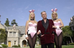 Hugh Hefner and Playmates