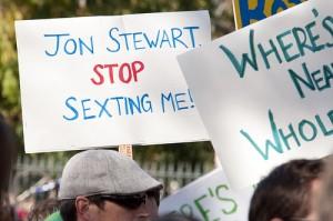 john stewart stop sexting me
