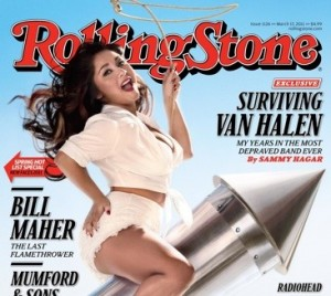 Snooki on the cover of the Rolling Stone
