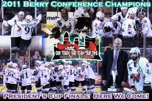 Bossier Shreveport Mudbugs Berry Conference Champs