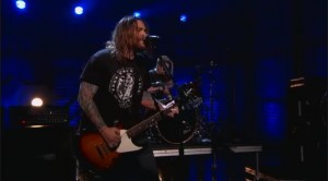 "Seether ""Tonight"" Perfomance on Conan O'Brian 8-02-11"
