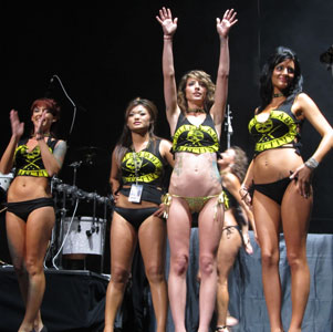 Uproar Bikini Contest