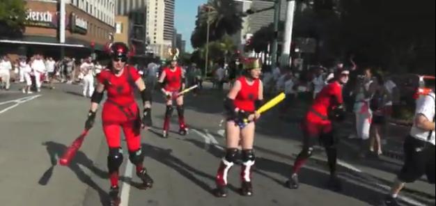 New Orleans Running of the Bulls