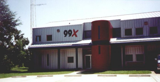 Original KTUX Building