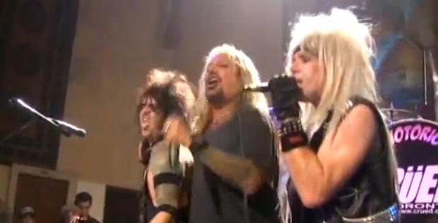 Vince Neil with Crued