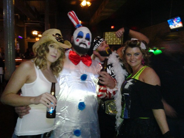 captain spaulding and baby