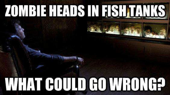 walking dead governor memes