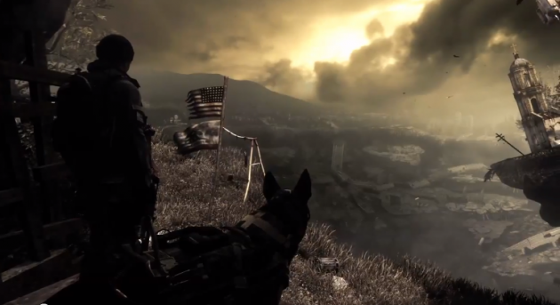call of duty ghosts trailer