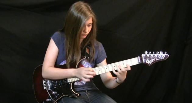 tina s van halen guitar solo
