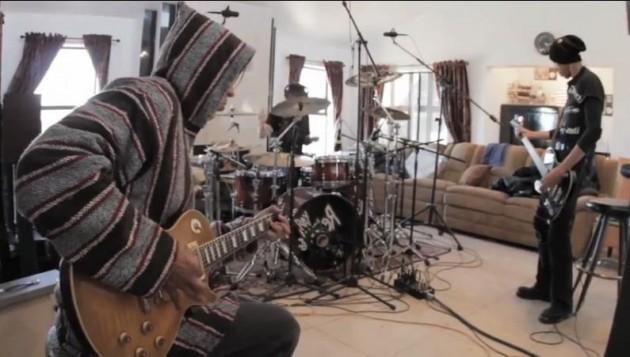 KXM in the studio