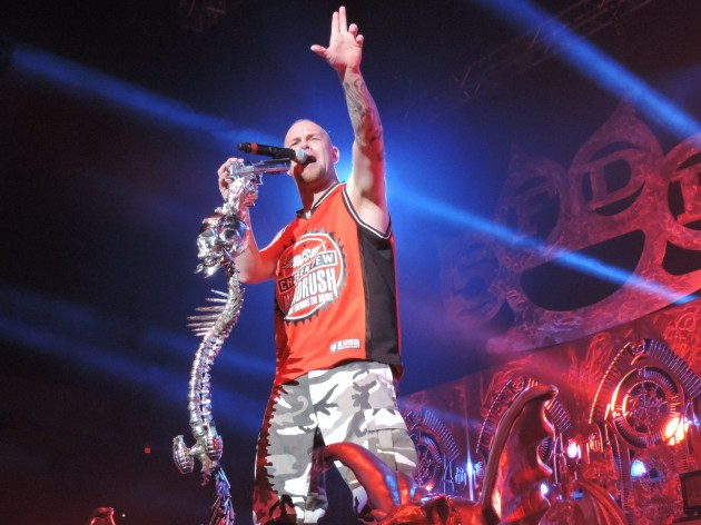 five finger death punch live in bossier city