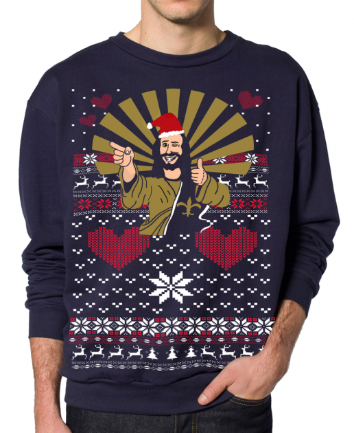 The Greatest Ugly Christmas Sweater EVER [PICTURE]