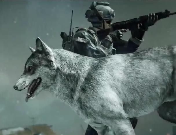 cod ghosts the wolf skin