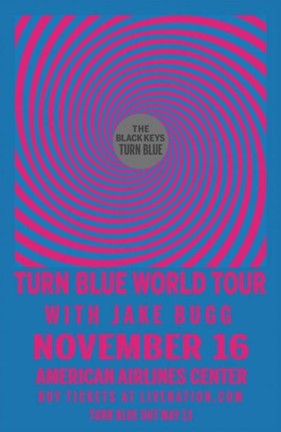 """Black Keys """"Turn Blue Tour"""""""