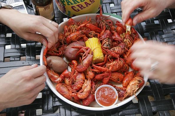Boiled Seasoned Crayfish