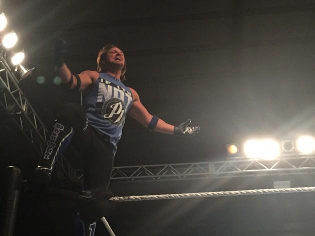 AJ Styles at WWE Live In Texarkana